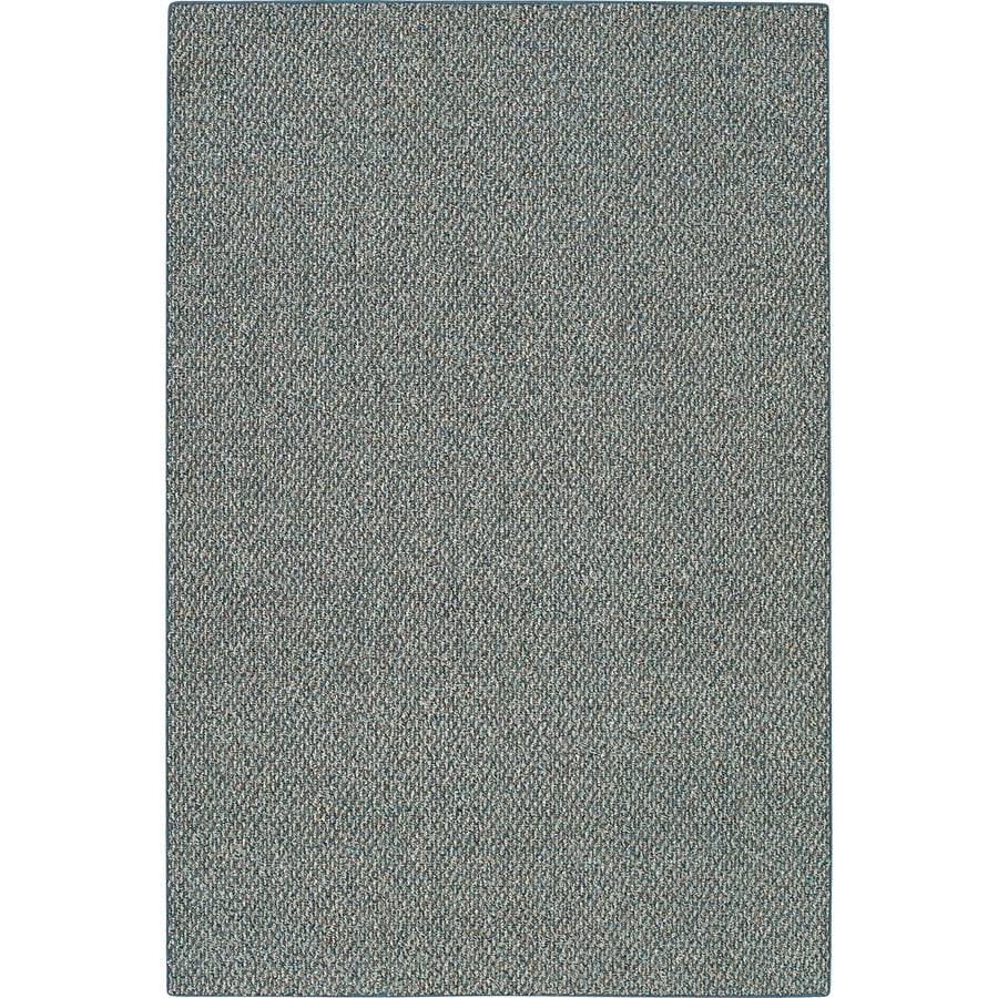 Mohawk Home Gray Rectangular Indoor Tufted Area Rug (Common: 9 x 12; Actual: 8-ft W x 12-ft L x 0.5-ft Dia)