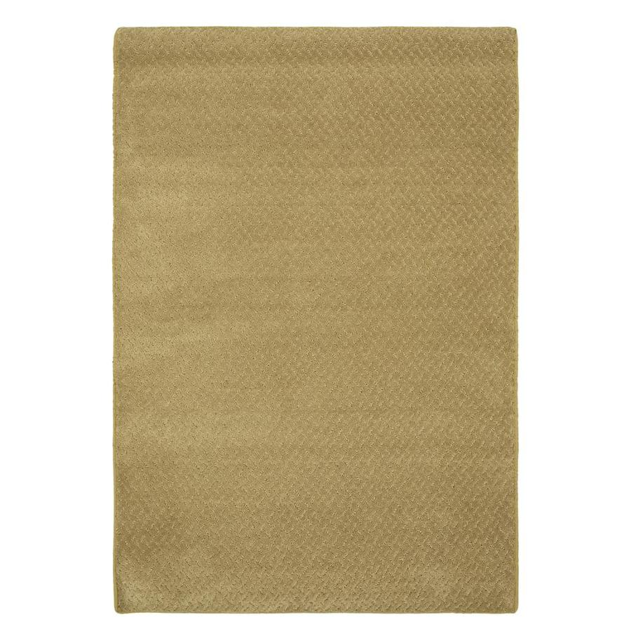 Mohawk Home Residential Natural Yellow Rectangular Indoor Woven Area Rug (Common: 8 x 11; Actual: 8-ft W x 12-ft L x 0.5-ft Dia)