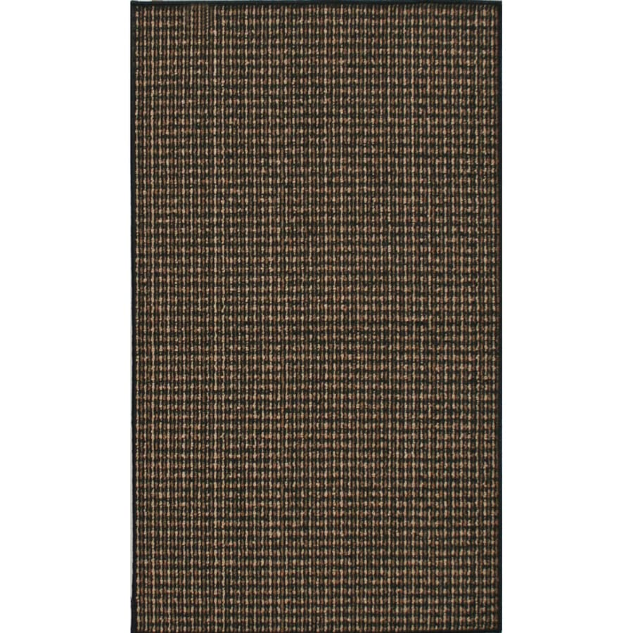 Mohawk Home 5-ft x 7-ft San Juan Black Area Rug