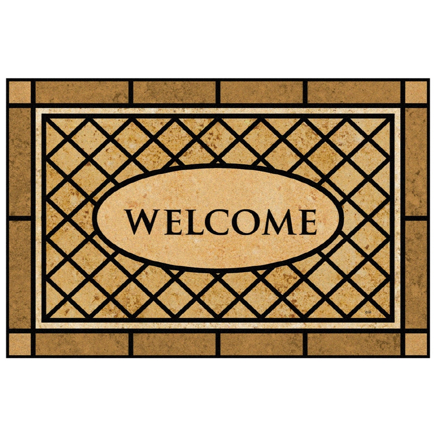 Mohawk Home Rectangular Door Mat (Common: 2-ft x 3-ft; Actual: 23-in x 35-in)