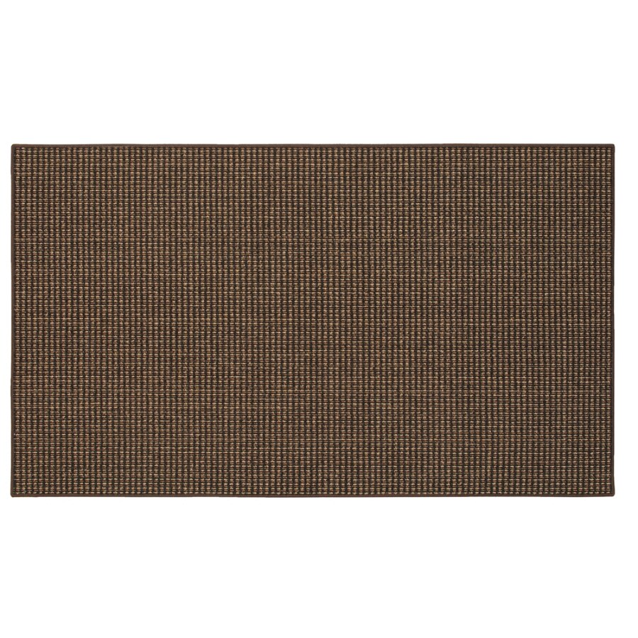 Mohawk Home Brown Rectangular Indoor Tufted Throw Rug (Common: 2 x 4; Actual: 2-ft W x 3.3333-ft L x 0.5-ft Dia)