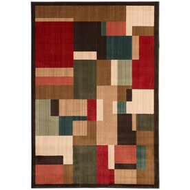 Mohawk Home Patton Brown Indoor Inspirational Throw Rug