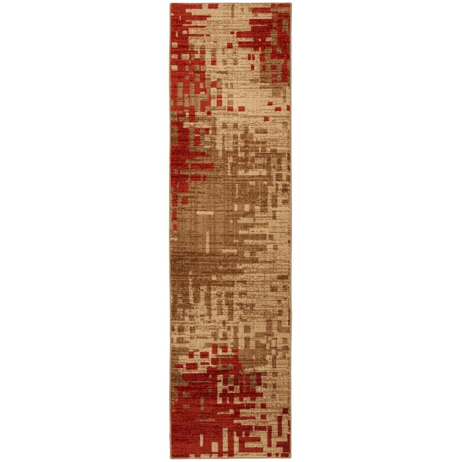 Mohawk Home Select Kaleidoscope Multicolor Rectangular Indoor Woven Runner (Common: 2 x 8; Actual: 25-in W x 94-in L x 0.5-ft Dia)