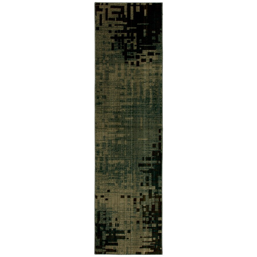 Mohawk Home Select Kaleidoscope Multicolor Woven Runner (Common: 2-ft x 8-ft; Actual: 2.083-ft x 7.833-ft)