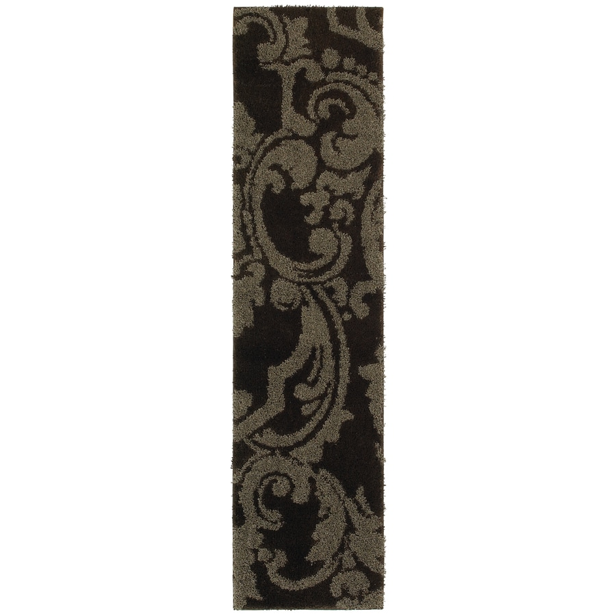 Mohawk Home Wilkshire Brown Rectangular Indoor Tufted Runner (Common: 2 x 8; Actual: 2-ft W x 8-ft L x 0.5-ft Dia)