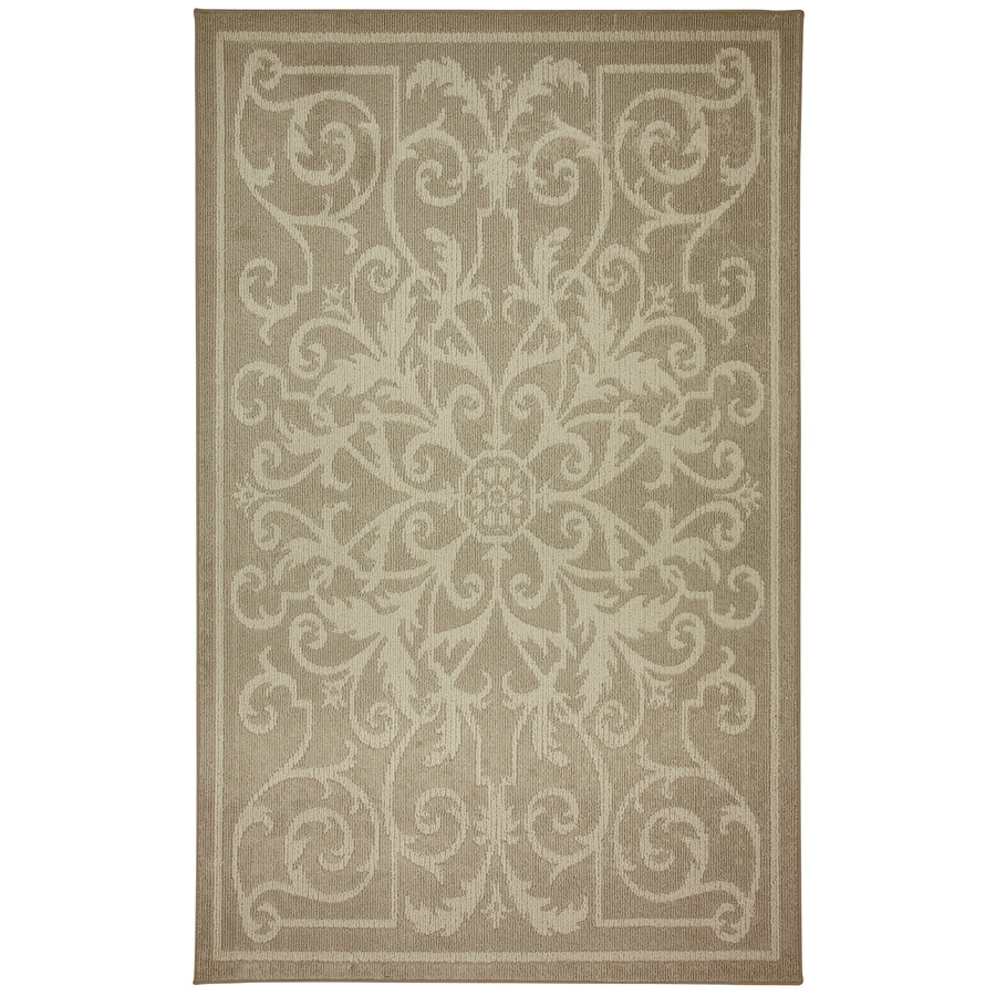 Mohawk Home 5-ft x 7-ft Rectangle Multicolor Area Rug