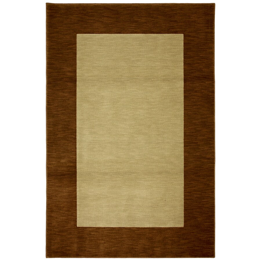 Mohawk Home Midtown Brown Rectangular Indoor Woven Area Rug (Common: 8 x 10; Actual: 96-in W x 120-in L x 0.5-ft Dia)