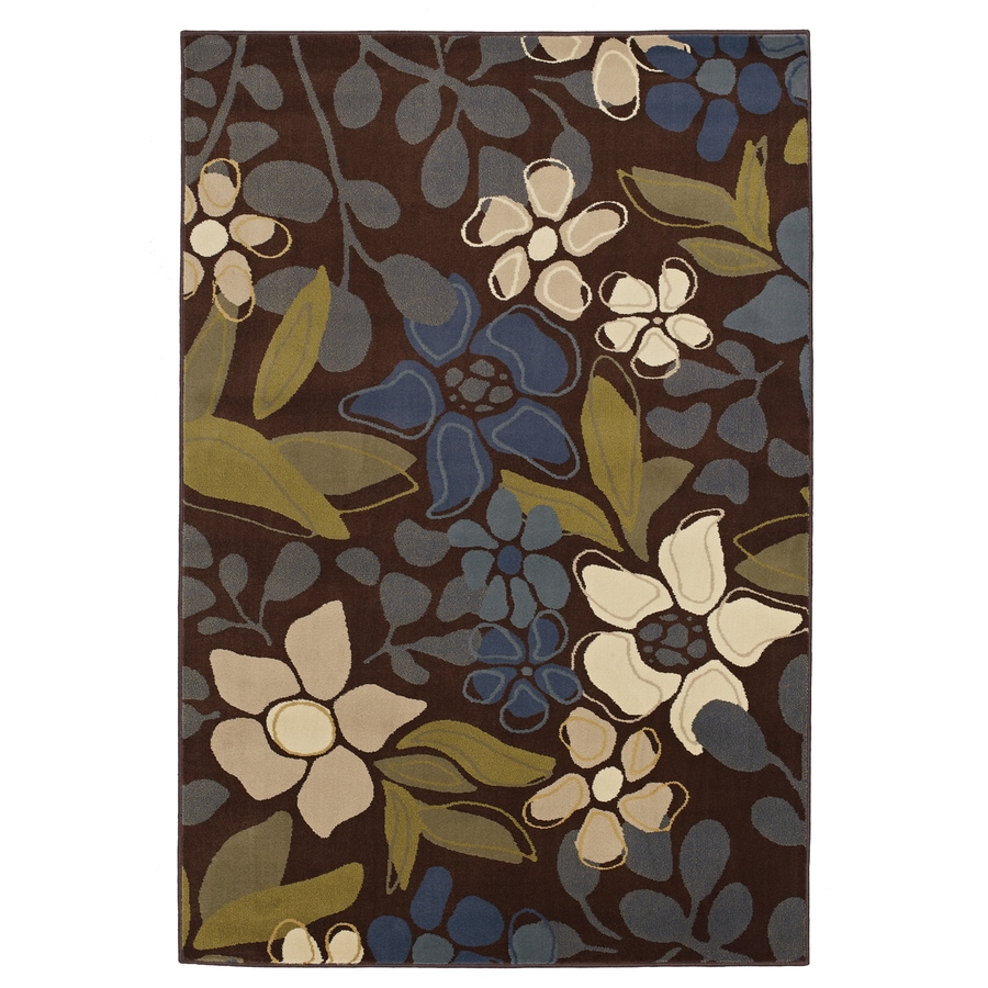 Mohawk Home Barbados Multicolor Rectangular Indoor Woven Area Rug (Common: 5 x 8; Actual: 5.25-ft W x 7.8333-ft L x 0.5-ft Dia)