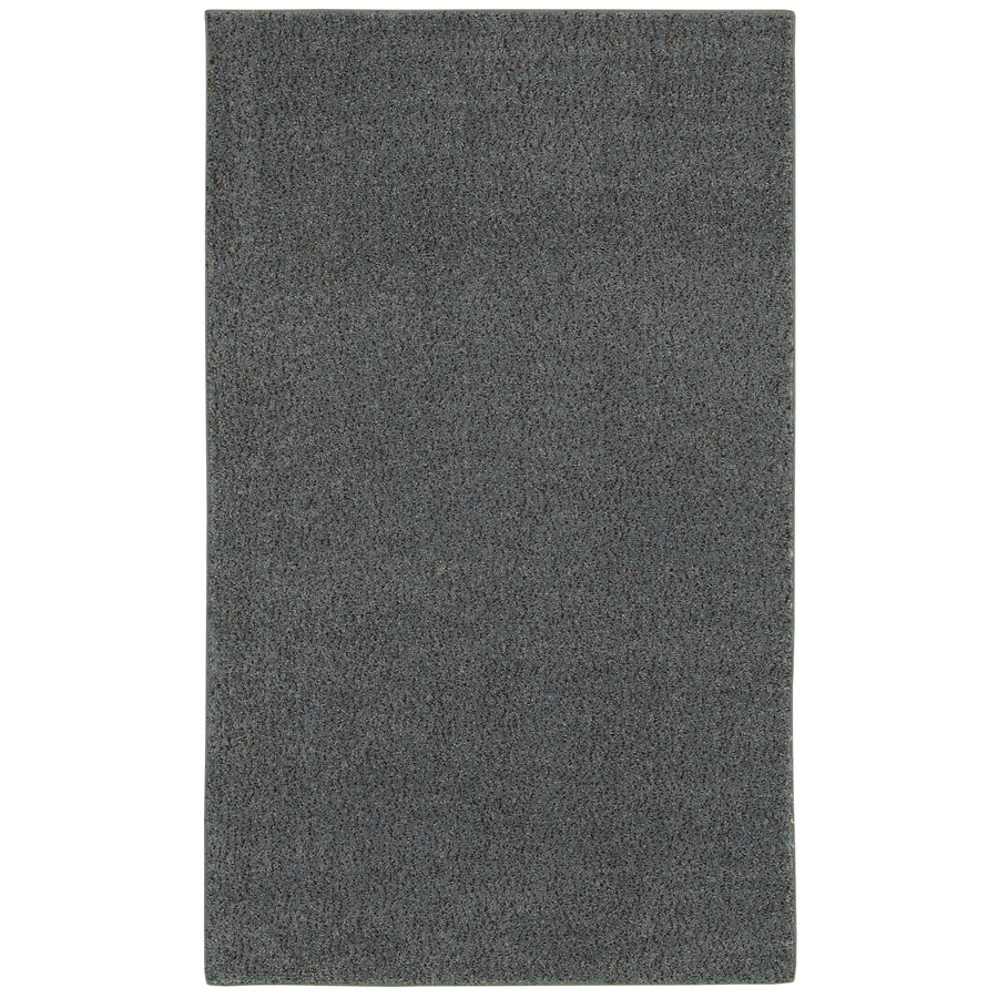 Mohawk Home Shearling Boucle Sea Gold Gray Rectangular Indoor Tufted Area Rug (Common: 8 x 10; Actual: 96-in W x 120-in L x 0.5-ft Dia)