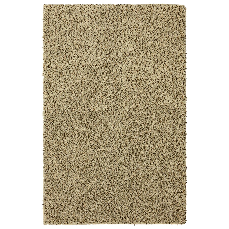 Mohawk Home Shearling Boucle 5-ft x 8-ft Rectangular Beige Transitional Area Rug