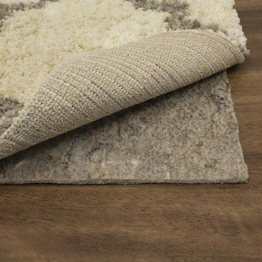 Shop Mohawk Home 96 In X 60 In Rug Pad At Lowes Com
