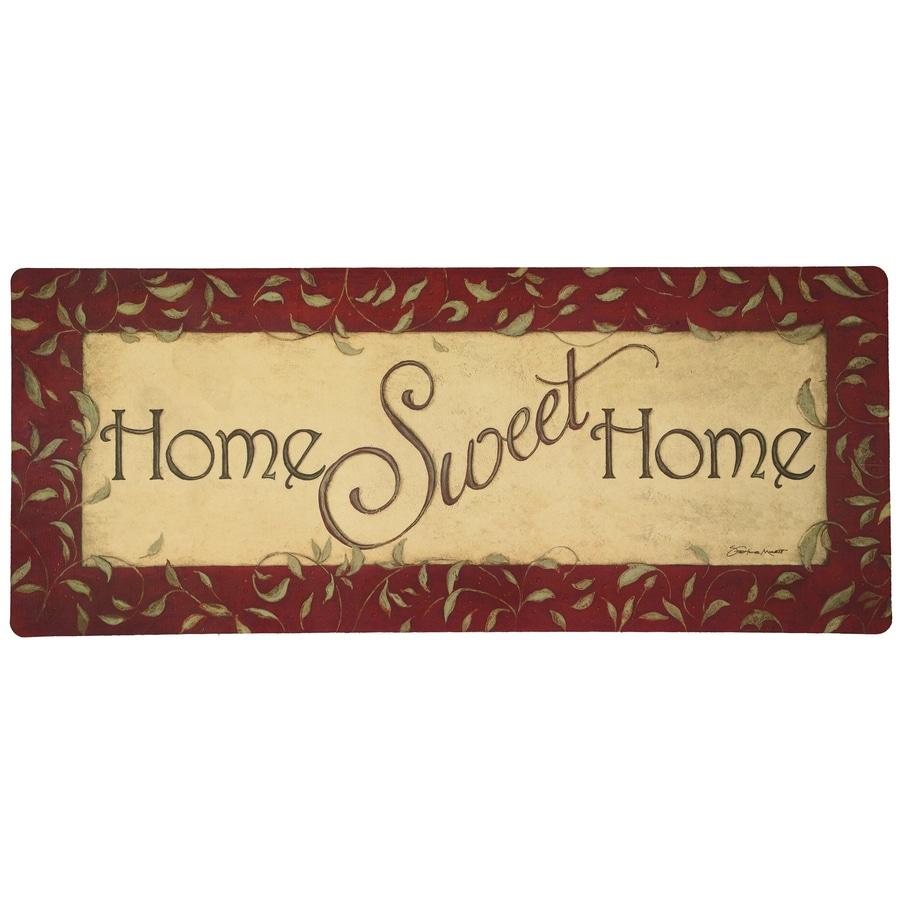 Mohawk Home Cream/Beige/Almond Rectangular Door Mat (Common: 20-in x 48-in; Actual: 20-in x 48-in)