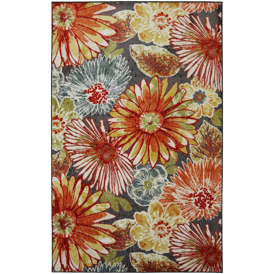 Mohawk Home Charm Multi Rectangular Indoor Tufted Area Rug (Common: 5 x 8; Actual: 5-ft W x 8-ft L x 0.5-ft Dia)