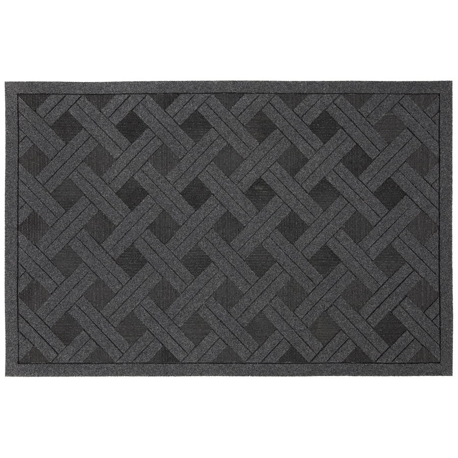 Style Selections Rectangular Door Mat (Actual: 23-in x 35-in)