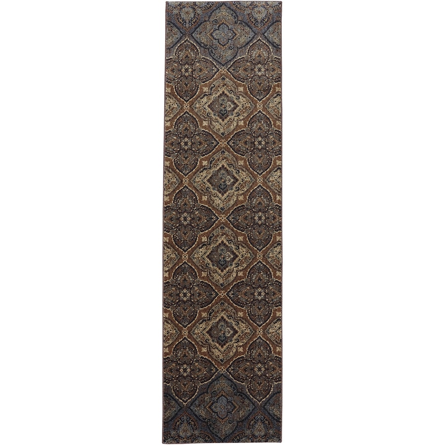 Mohawk Home Dryden Chapel Tundra Rectangular Indoor Machine-Made Area Rug (Common: 2 x 8; Actual: 2-ft W x 7-ft L)