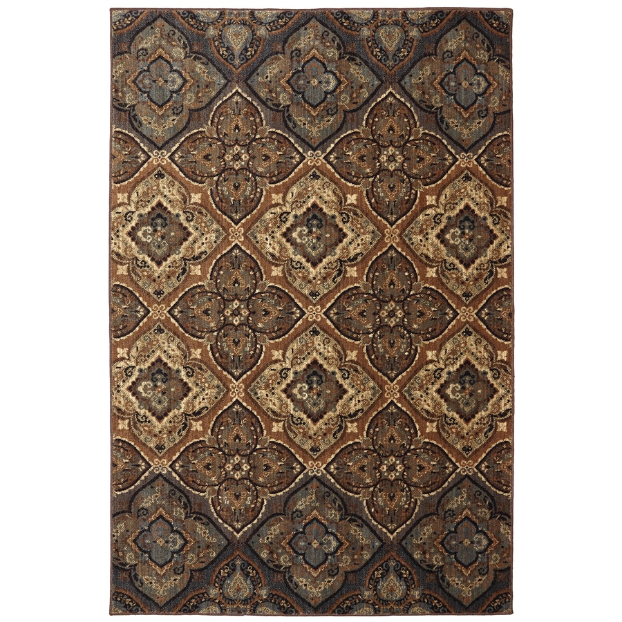 Mohawk Home Dryden Chapel Tundra Rectangular Indoor Machine-Made Area Rug (Common: 5 x 8; Actual: 63-in W x 94-in L)