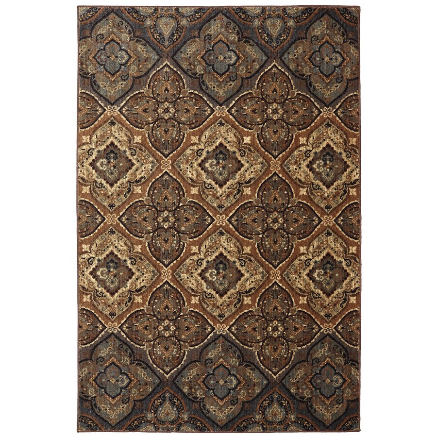 Mohawk Home Dryden Chapel Tundra Rectangular Indoor Machine-Made Area Rug (Common: 10 x 13; Actual: 114-in W x 155-in L)