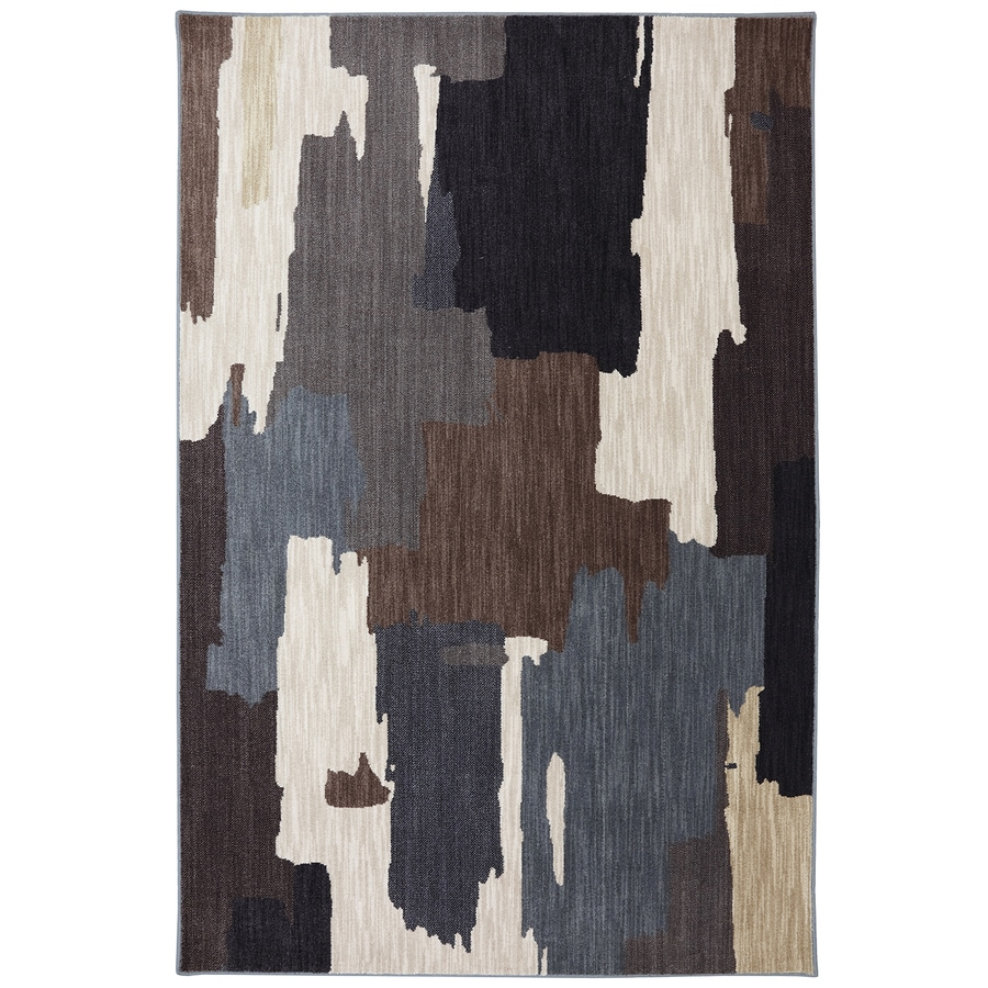 Mohawk Home Dryden Oak Park Flint Rectangular Indoor Machine-Made Area Rug (Common: 8 x 11; Actual: 8-ft W x 11-ft L)