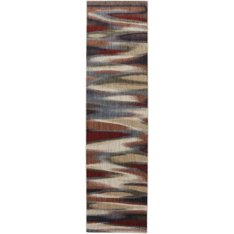 Mohawk Home Dryden Tupper Lake Muslin Rectangular Indoor Machine-Made Inspirational Area Rug (Common: 8x11; Actual: 8-ft W x 11-ft L x 0.5-ft dia)