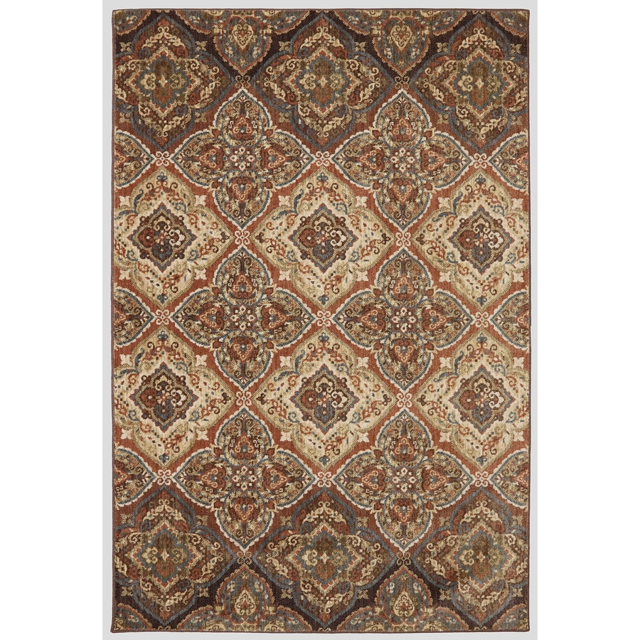 Mohawk Home Dryden Chapel Latte Rectangular Indoor Machine-Made Area Rug (Common: 8 x 11; Actual: 8-ft W x 11-ft L)