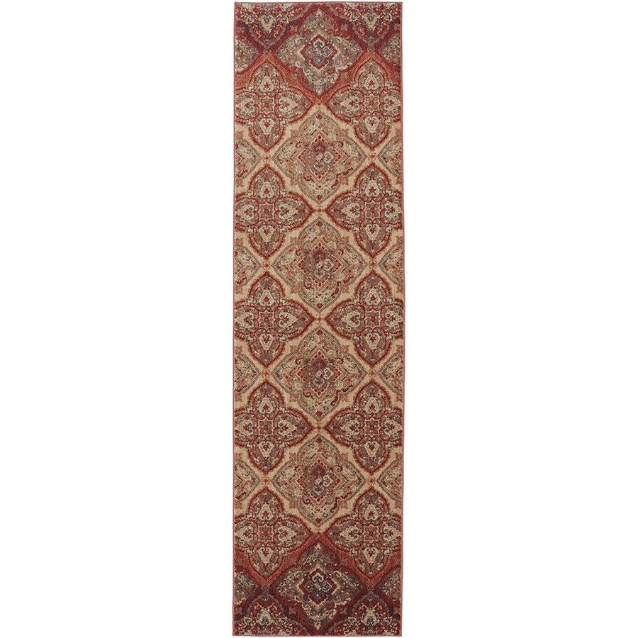 Mohawk Home Dryden Chapel Mesquite Rectangular Indoor Machine-Made Area Rug (Common: 2 x 8; Actual: 2-ft W x 7-ft L)