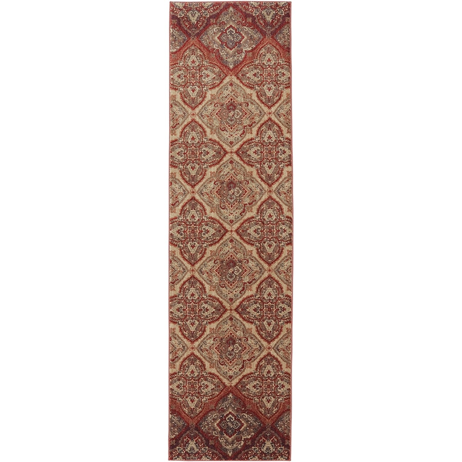 Mohawk Home Dryden Chapel Mesquite Rectangular Indoor Machine-Made Inspirational Area Rug (Common: 4 x 6; Actual: 3-ft W x 5-ft L x 0.5-ft dia)