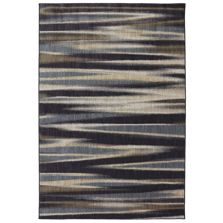 Mohawk Home Dryden Tupper Lake Ashen Rectangular Indoor Machine-Made Area Rug (Common: 10 x 13; Actual: 9.6-ft W x 12.11-ft L)