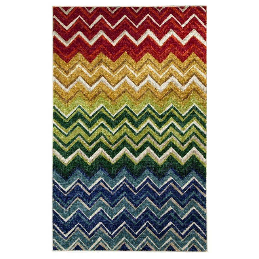 Mohawk Home Crete Multicolor Rectangular Indoor Tufted Area Rug (Common: 8 x 10; Actual: 96-in W x 120-in L x 0.5-ft Dia)
