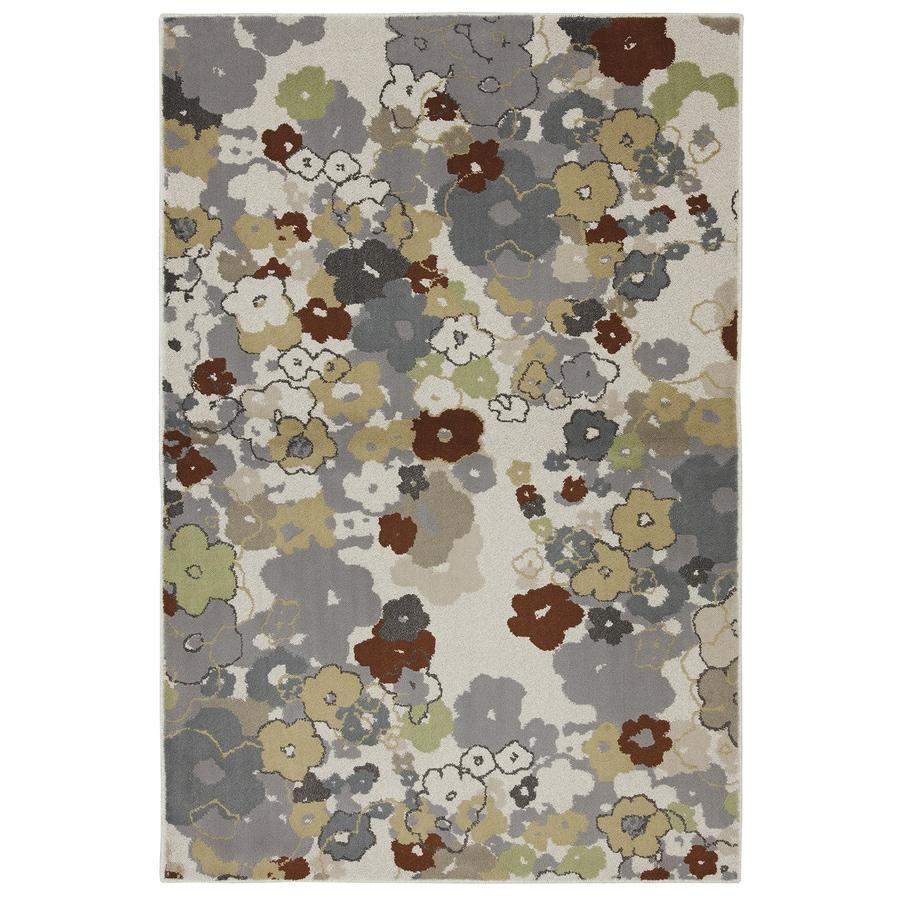Mohawk Home Multi Rectangular Indoor Woven Throw Rug (Common: 3 x 5; Actual: 3.4166-ft W x 5.1666-ft L x 0.5-ft Dia)