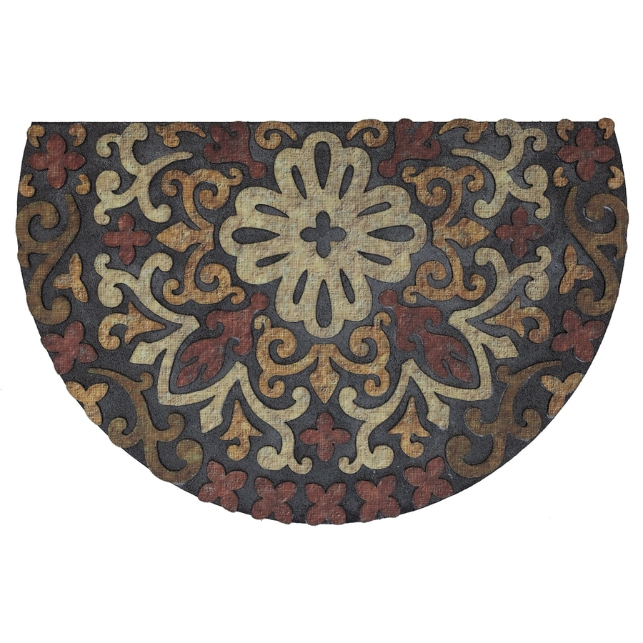 Mohawk Home Semicircle Door Mat (Actual: 23-in x 35-in)