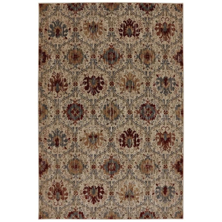 Mohawk Home Dryden Multi Rectangular Indoor Machine-Made Moroccan Area Rug (Common: 5 x 8; Actual: 5.25-ft W x 7.83-ft L)