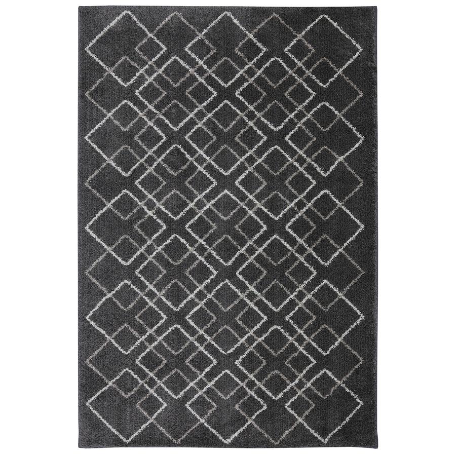 Mohawk Home Sierra Cream Rectangular Indoor Woven Area Rug (Common: 7 x 10; Actual: 78-in W x 120-in L x 0.5-ft Dia)