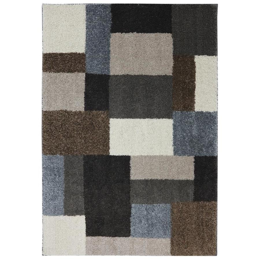 Mohawk Home Franklin Cream Rectangular Indoor Woven Area Rug (Common: 5 x 7; Actual: 5-ft W x 7-ft L x 0.5-ft Dia)