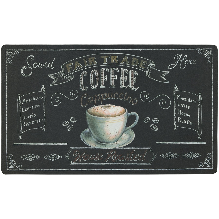 Mohawk Home Black Rectangular Door Mat (Common: 18-in x 30-in; Actual: 18-in x 30-in)