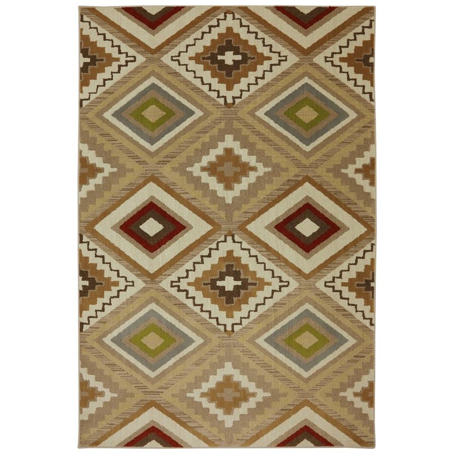 Mohawk Home Veleste Brown Rectangular Indoor Woven Area Rug (Common: 8 x 11; Actual: 8-ft W x 11-ft L x 0.5-ft Dia)