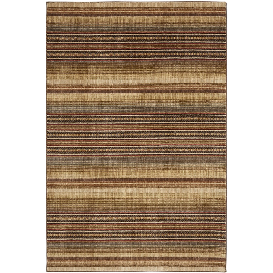 Bob Timberlake Heritage Multicolor Rectangular Indoor Woven Area Rug (Common: 5 x 8; Actual: 63-in W x 94-in L x 0.5-ft Dia)