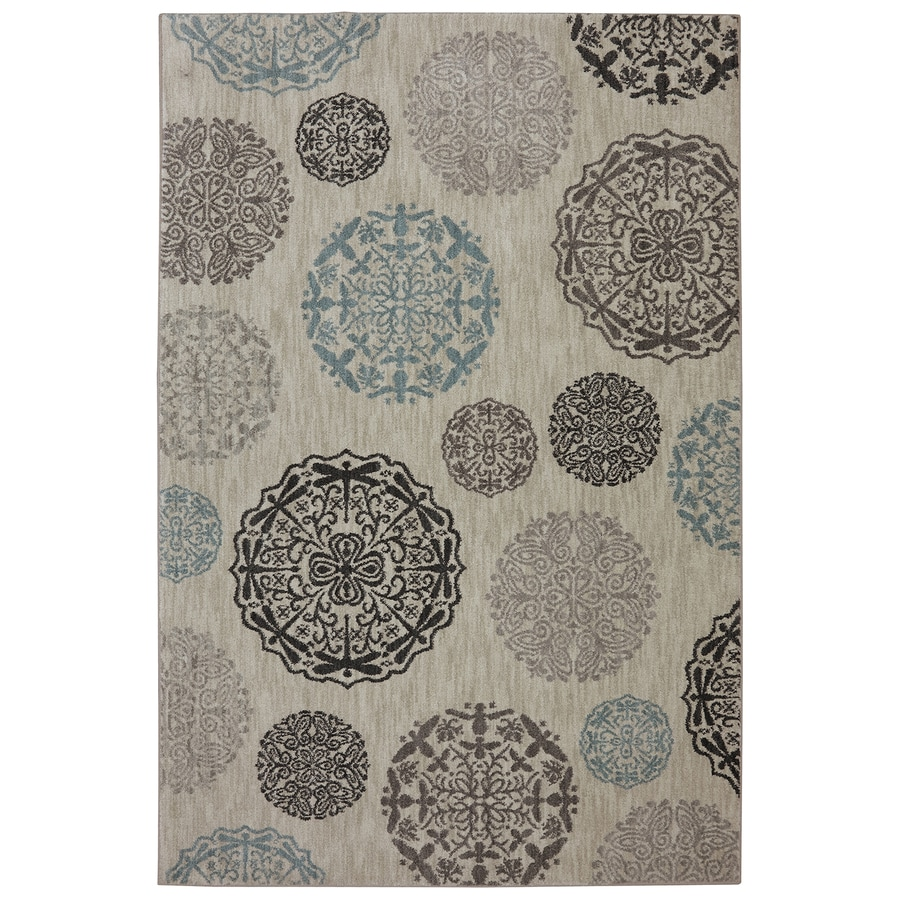 Bob Timberlake Reflections Elephant Skin Rectangular Indoor Woven Area Rug (Common: 8 x 10; Actual: 8-ft W x 10-ft L x 0.5-ft Dia)