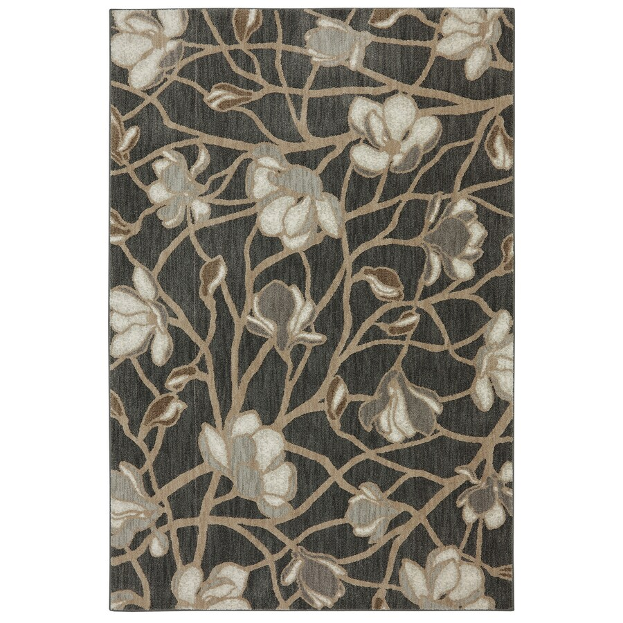 Bob Timberlake Reflections Multicolor Rectangular Indoor Woven Area Rug (Common: 8 x 10; Actual: 96-in W x 120-in L x 0.5-ft Dia)