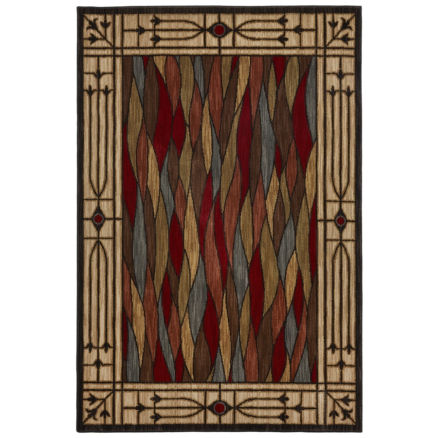 Bob Timberlake Heritage Multicolor Rectangular Indoor Woven Area Rug (Common: 8 x 10; Actual: 96-in W x 120-in L x 0.5-ft Dia)