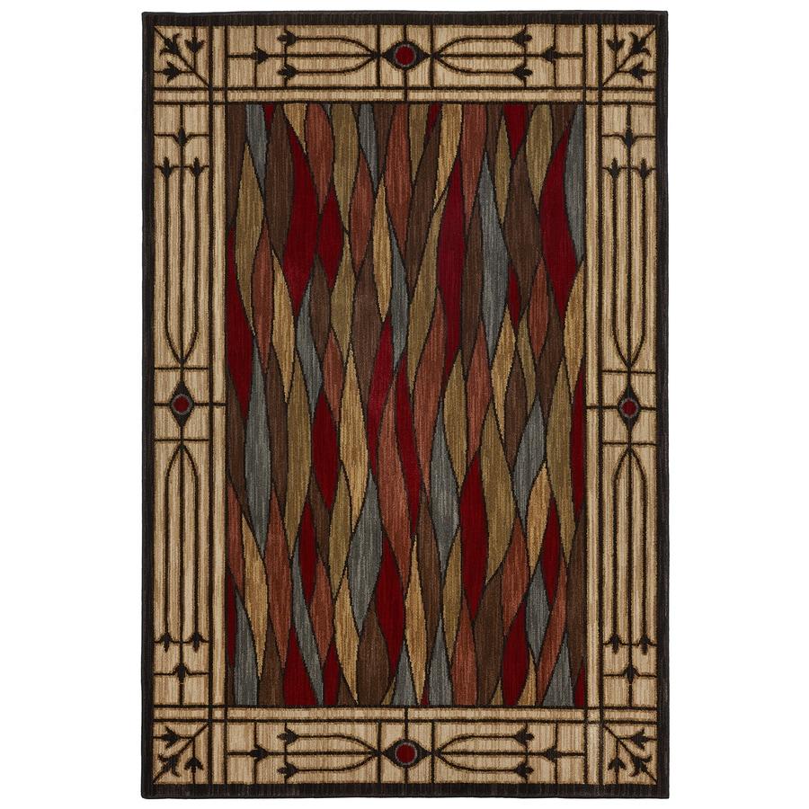 Bob Timberlake Heritage Multi Rectangular Indoor Woven Area Rug (Common: 8 x 10; Actual: 8-ft W x 10-ft L x 0.5-ft Dia)
