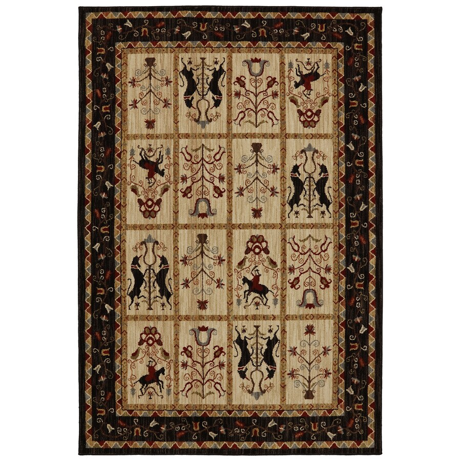 Bob Timberlake Heritage Multi Rectangular Indoor Woven Area Rug (Common: 5 x 8; Actual: 5.25-ft W x 7.8333-ft L x 0.5-ft Dia)