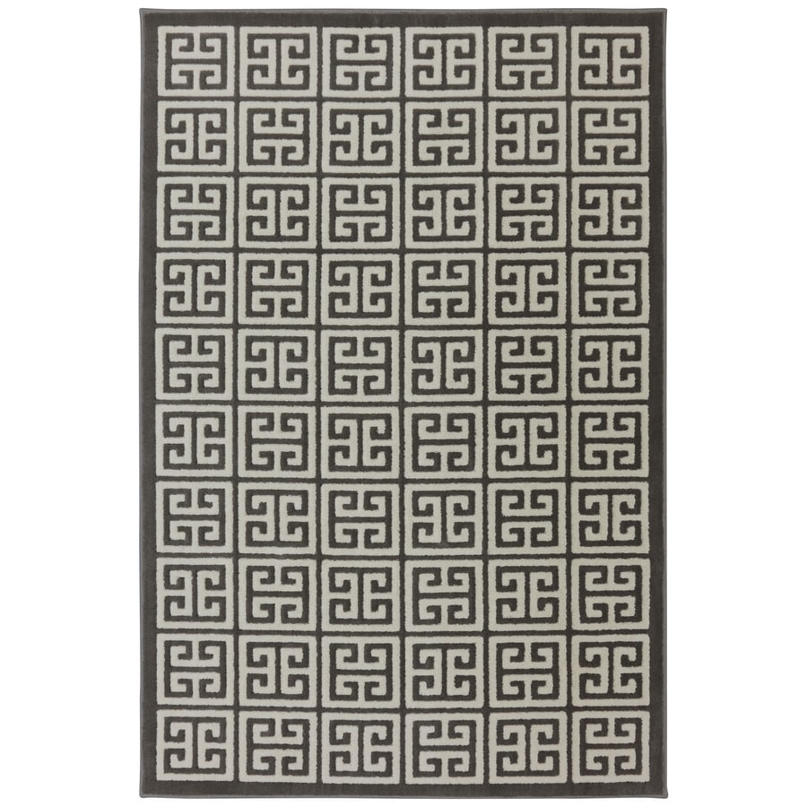 Mohawk Home Corsica Brindle Rectangular Indoor Woven Area Rug (Common: 8 x 10; Actual: 96-in W x 120-in L x 0.5-ft Dia)