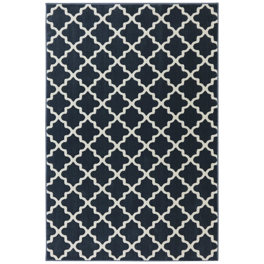 Best Shop Mohawk Home Elysian Fields Dark Slate Indoor Area Rug (Common  KJ86