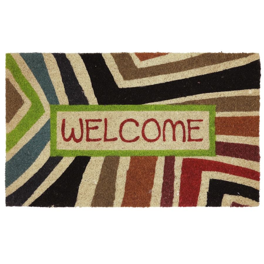 Mohawk Home Rectangular Door Mat (Actual: 18-in x 30-in)