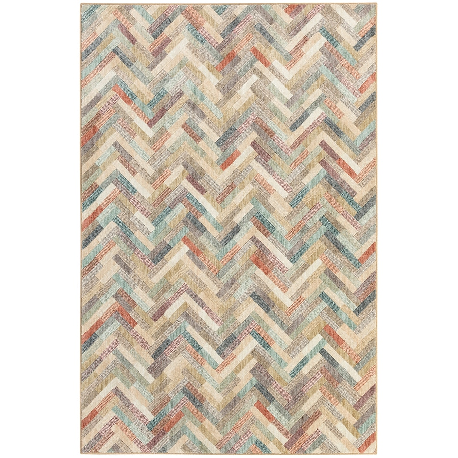 Mohawk Home Cascade Heights Rectangular Indoor Machine-Made Inspirational Area Rug (Common: 8 x 11; Actual: 8-ft W x 11-ft L x 0.5-ft dia)