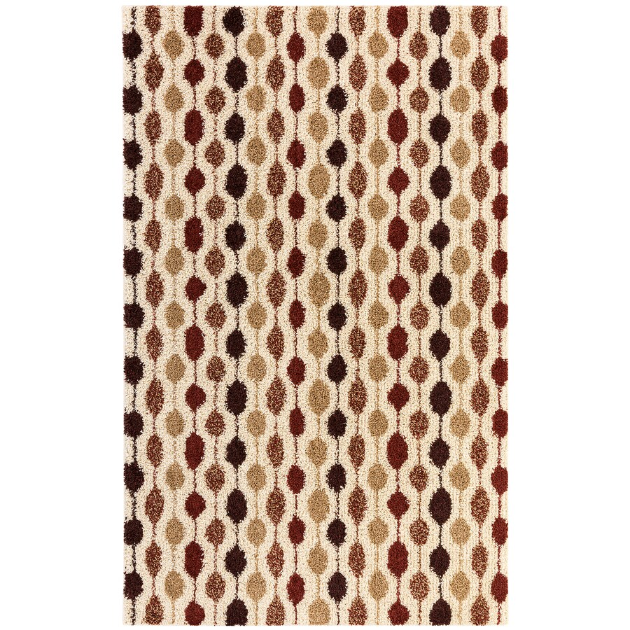 Mohawk Home Huxley Rectangular Indoor Machine-Made Inspirational Area Rug (Common: 5 x 8; Actual: 5-ft W x 8-ft L x 0.5-ft dia)