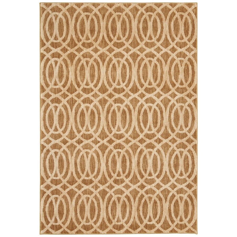 Mohawk Home Davenport Latte Rectangular Indoor Woven Runner
