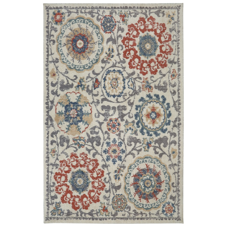 Mohawk Home Berkshire Vernon Multicolor Rectangular Indoor Woven Area Rug