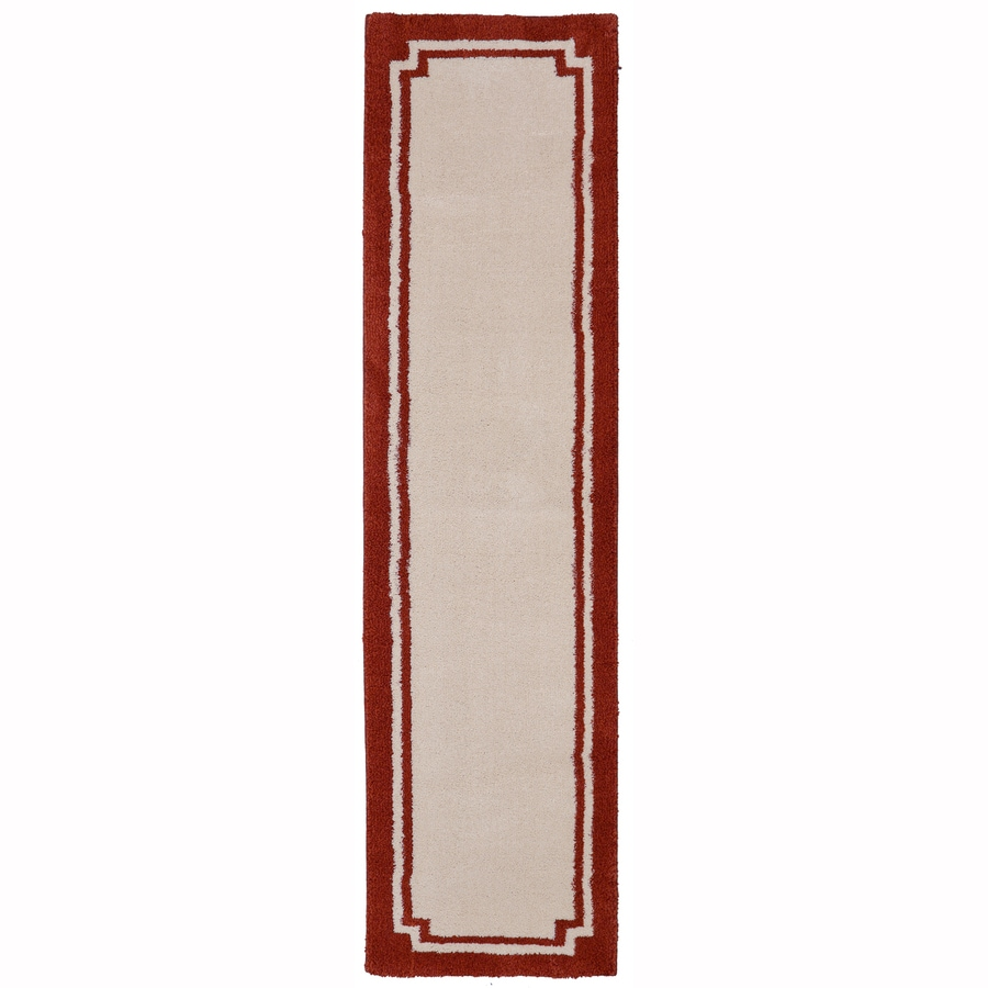 allen + roth Driscombe Picanta Rectangular Indoor Woven Runner (Common: 2 x 8; Actual: 2-ft W x 7.8333-ft L x 0.5-ft Dia)