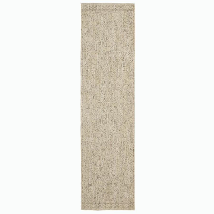 allen + roth Resbridge Indigo Rectangular Indoor Woven Runner (Common: 2 x 8; Actual: 24-in W x 94-in L x 0.5-ft dia)